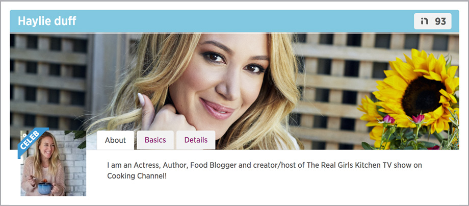Platform Search celebrity influencers