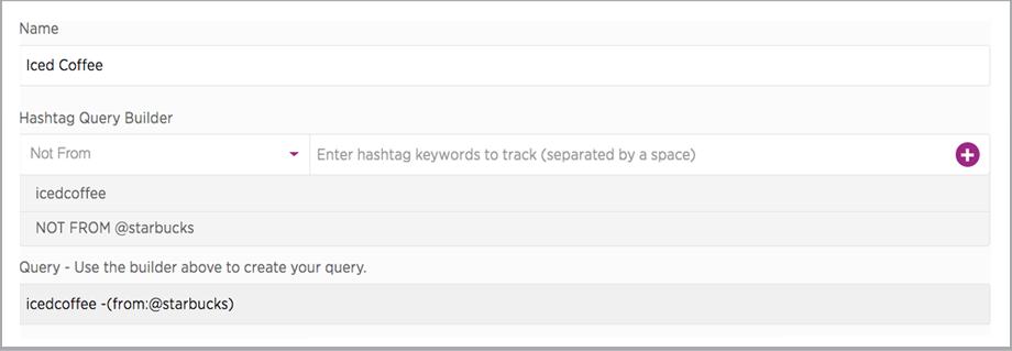 SocialSearch hashtag tracking