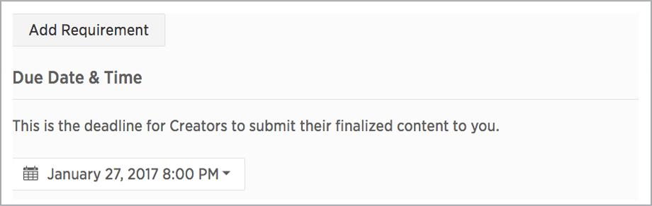 custom content