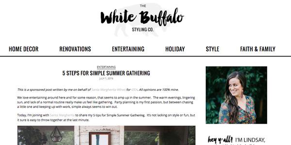 Influencer Marketing sponsored blog post