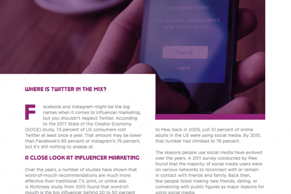 Twitter Influencer Marketing Preview 2