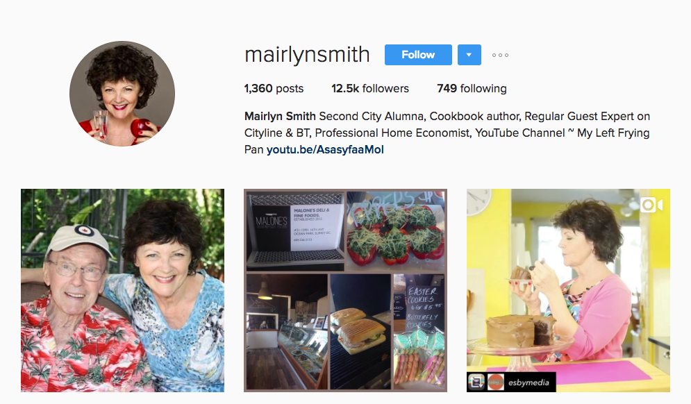 Canadian Social Media Influencer Mairlyn Smith