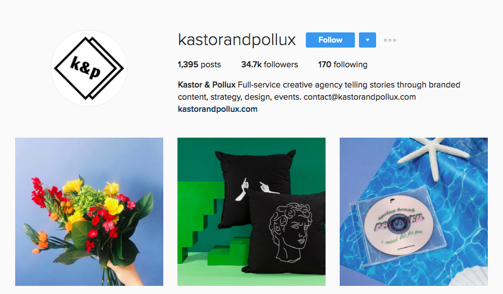 Kastor & Pollux Canadian Social Media Influencer