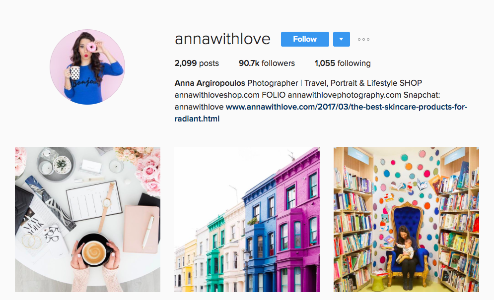Anna Argiropoulos Canada Social Media Influencer