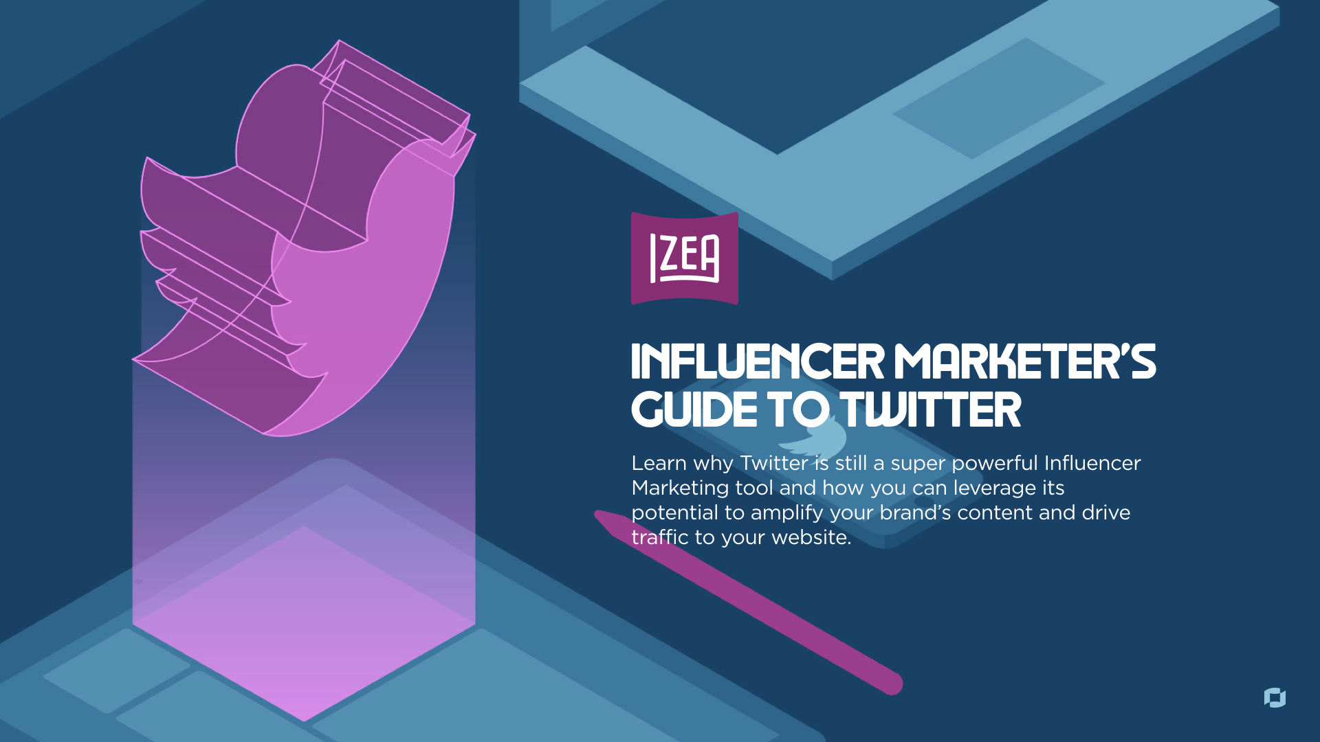 Twitter Influencer Marketing Ebook Cover