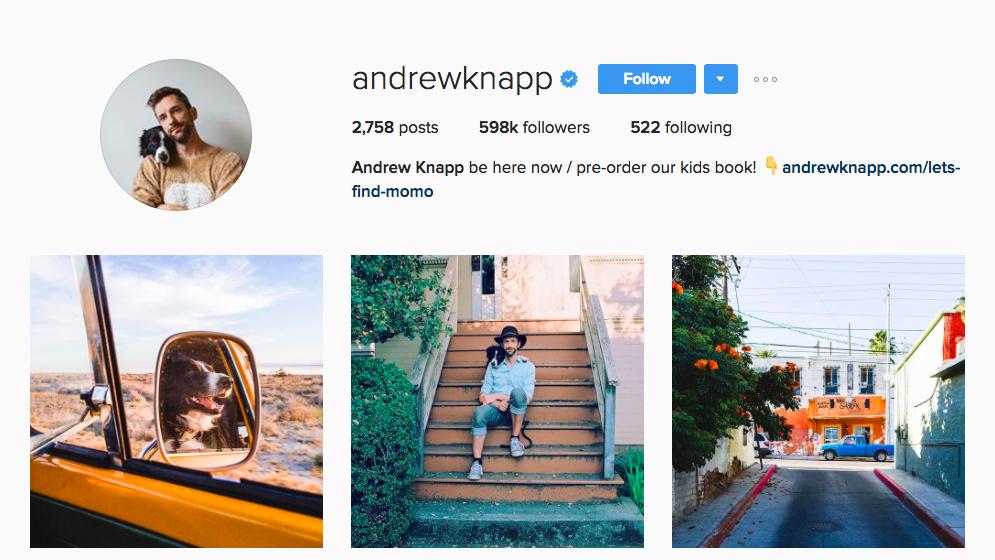 Andrew Knapp Canadian Social Media Influencer
