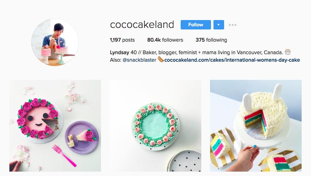Coco Cake Land Canadian Social Media Influencer