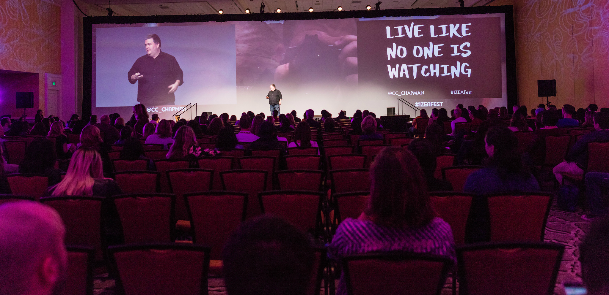 IZEAFest Session Video Recap: Live Like No One Is Watching by C.C. Chapman