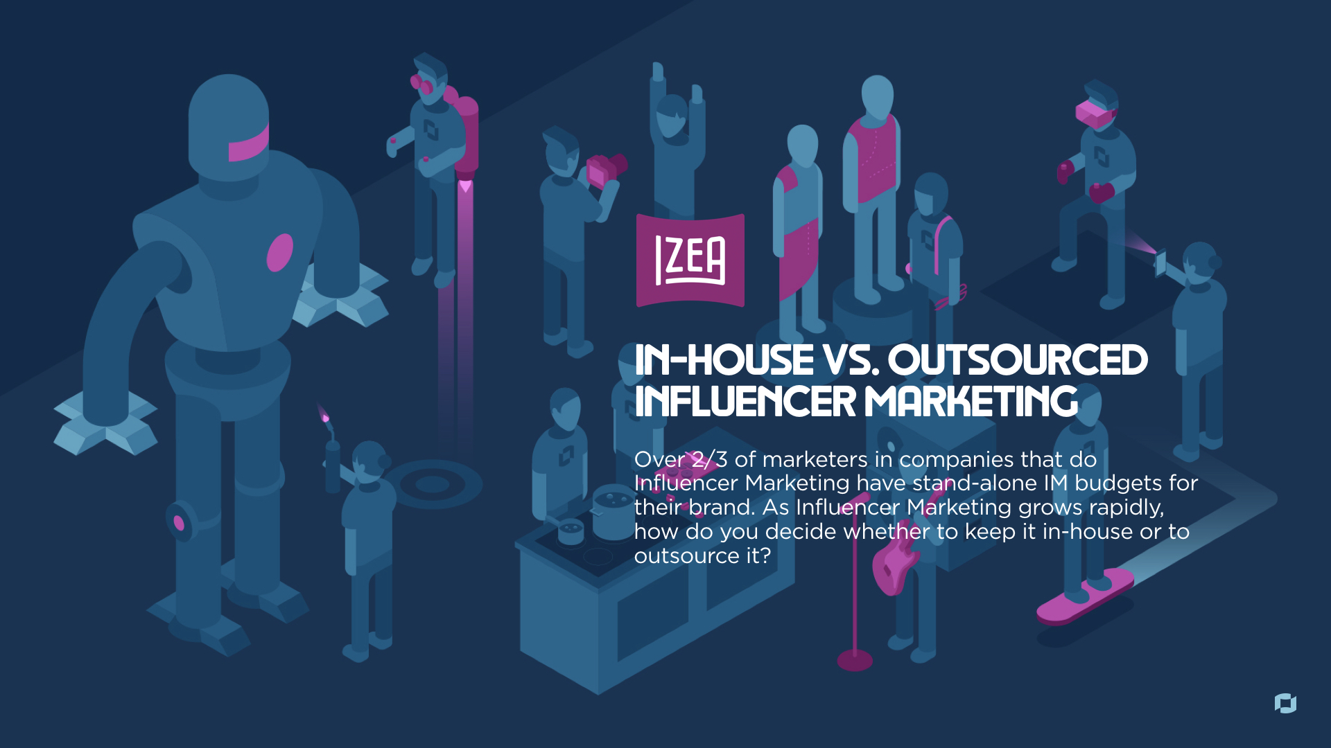 In-House vs. Outsourced Influencer Marketing Horizontal Cover Photo