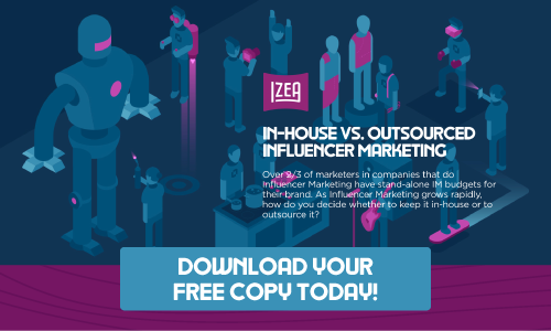 18c6a7914db0fb Download your free copy of the In-House VS. Outsourced Influencer Marketing  Guide today!