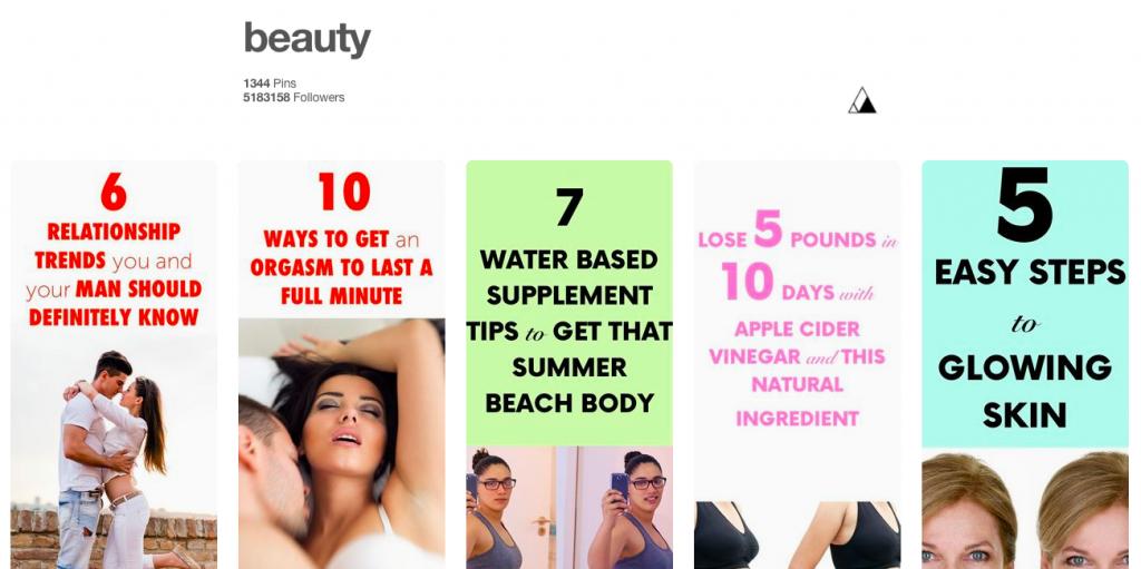 Veanad - Beauty Top Pinterest Board