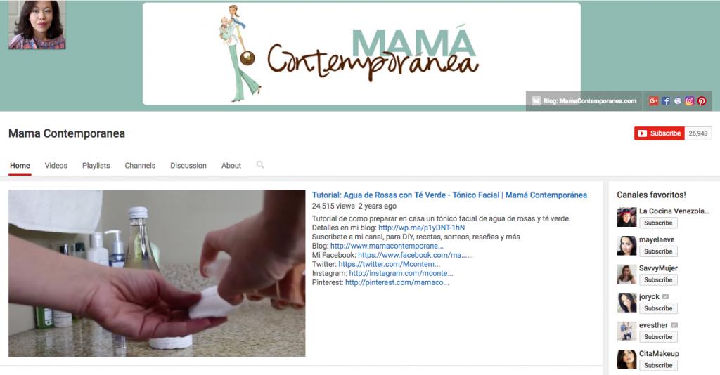 Mama Contemporanea Top Hispanic Social Media Influencer