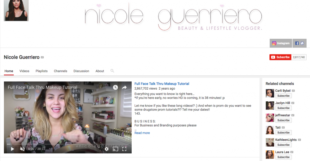 Nicole Guerriero Top Hispanic Social Media Influencer
