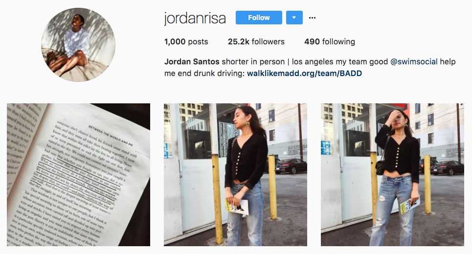 Jordan Santos Top Micro-Influencer