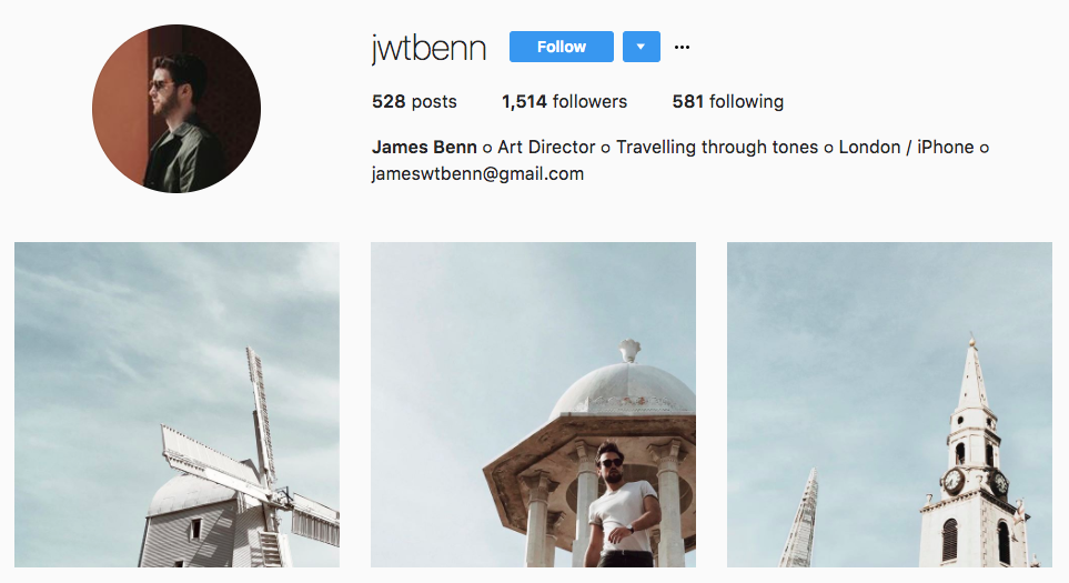 James Benn Top Micro-Influencer