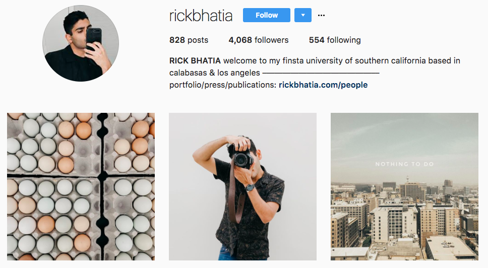 Top Micro-Influencer Rick Bhatia