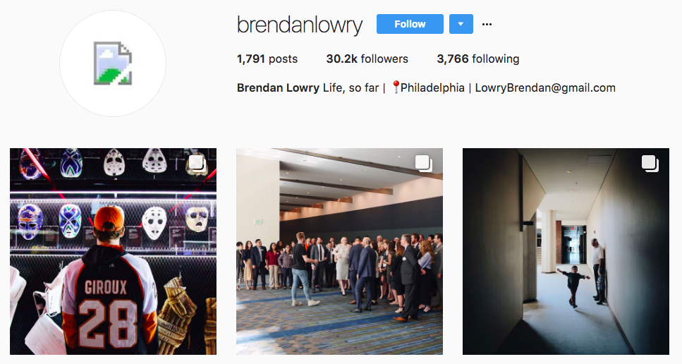 Brendan Lowry Top Micro-influencer