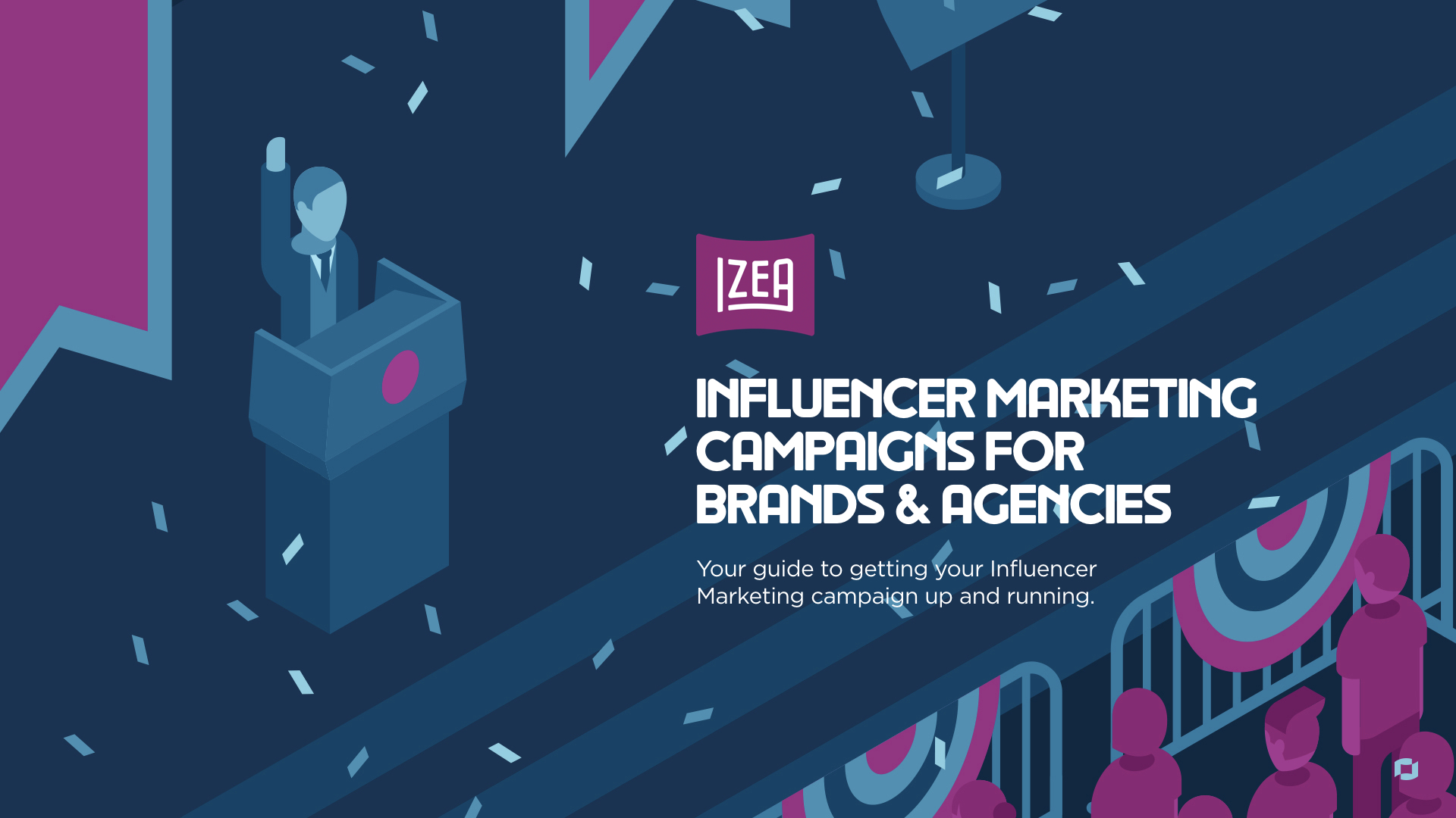 Influencer Marketer's Guide to Influencer Marketing Campaigns Ebook Cover