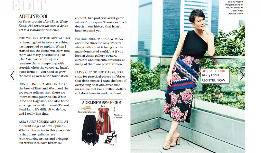 Net A Porter Shoppable Magazine Interactive Content Examples
