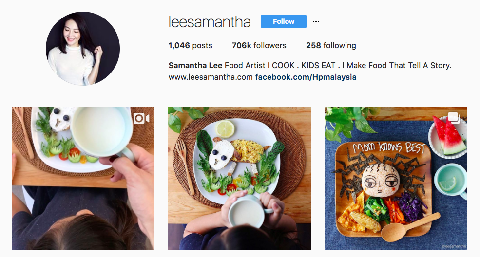 Samantha Lee Top foodie Influencer