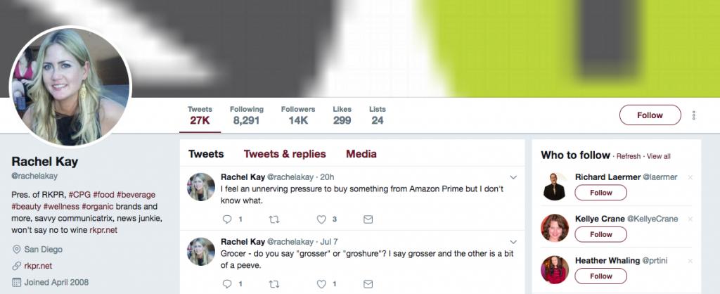 Rachel Kay Top PR Influencer