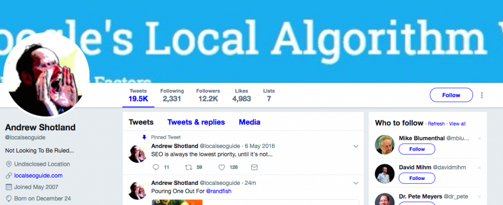Andrew Shotland Top SEO Influencer