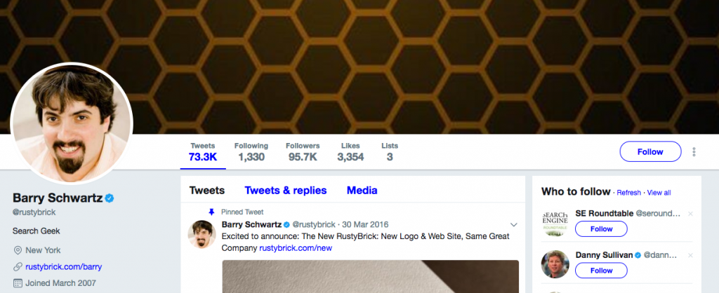 Barry Schwartz Top SEO Influencer