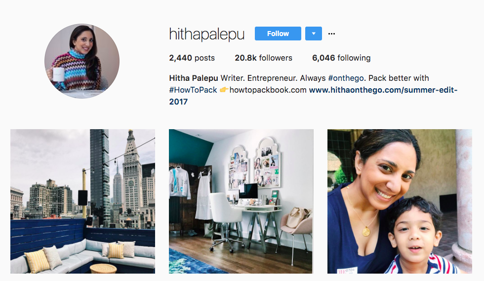 Hitha Palepu Top Travel Influencer