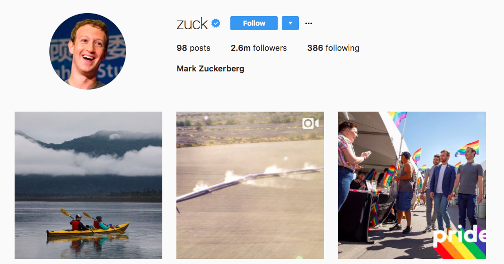 Zuck tech influencer