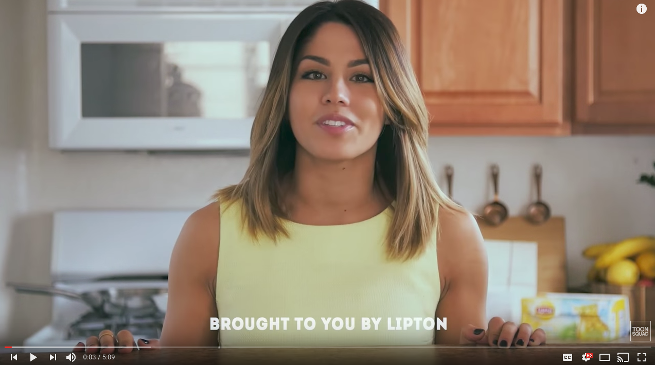 Lipton Influencer Marketing Campaign Example