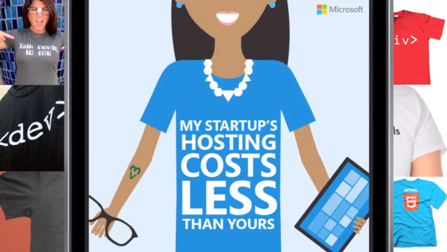 Microsoft BizSpark B2B Content Marketing Examples