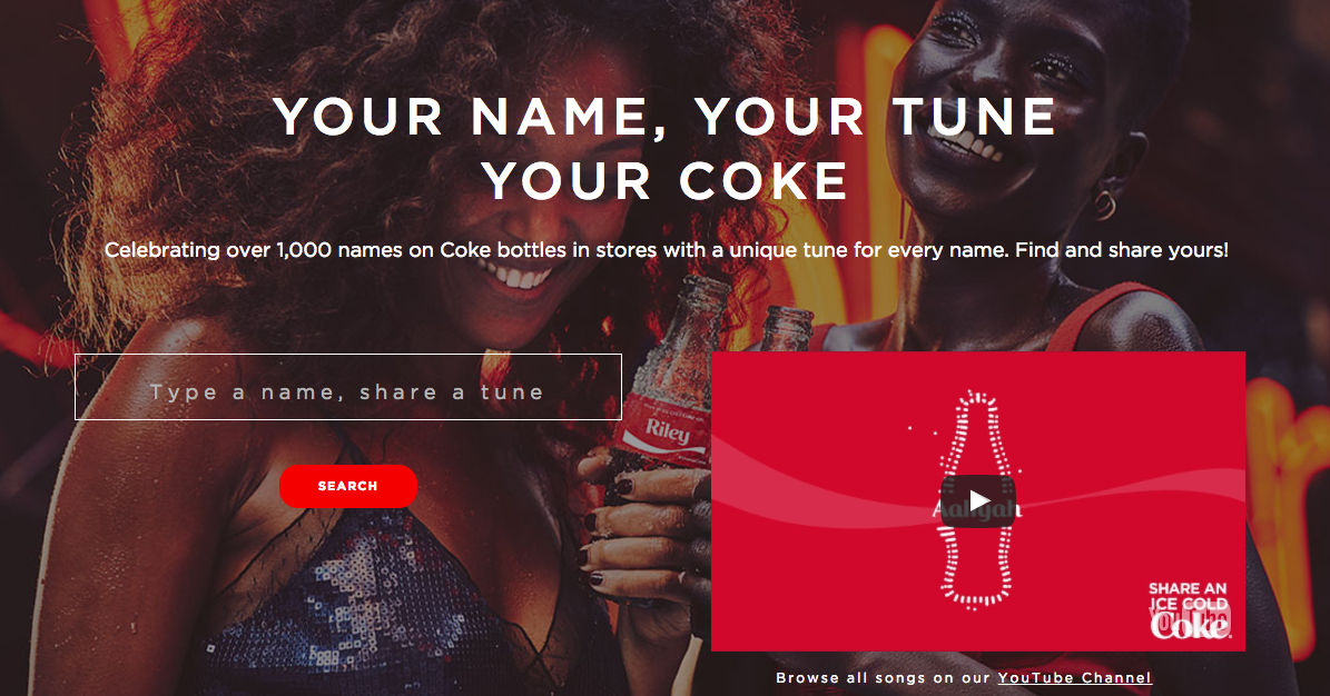 Coca-Cola B2C Content Marketing Examples