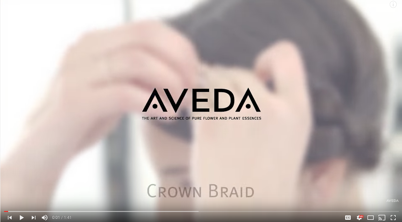 Aveda B2C Content Marketing Examples