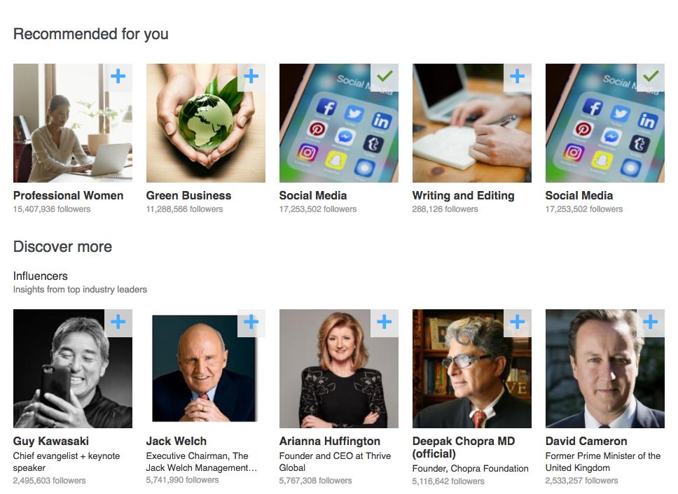 LinkedIn Content Marketing Brands