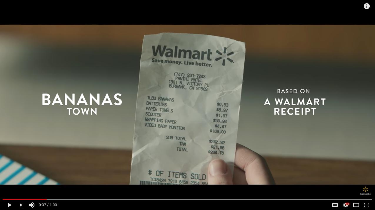 Walmart Content Marketing Brands