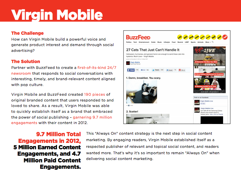 Content Marketing Brands - Virgin Mobile