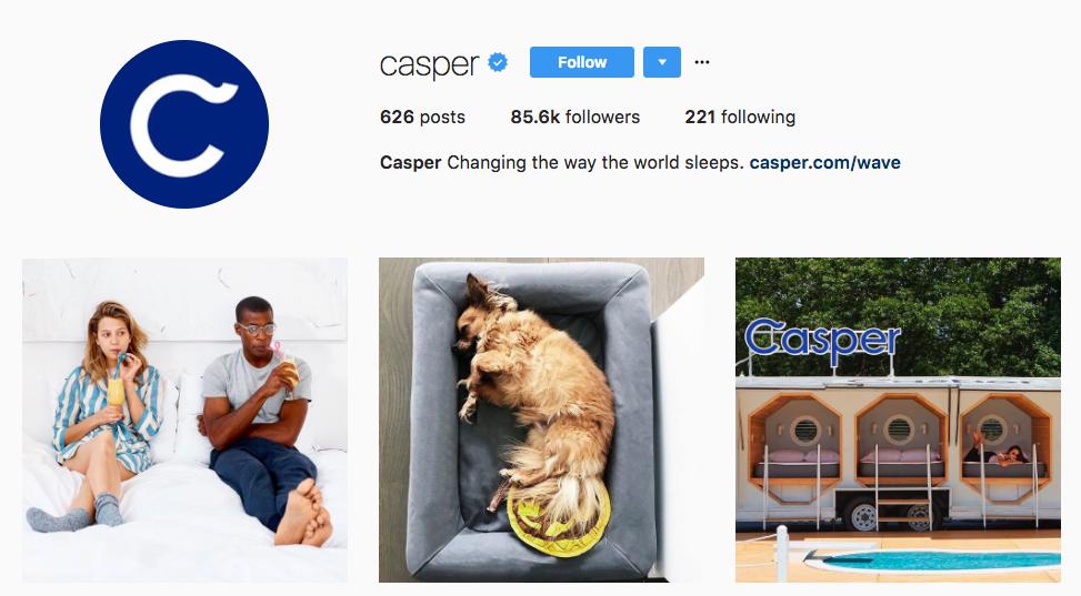 Casper Influencer Marketing for Small Business