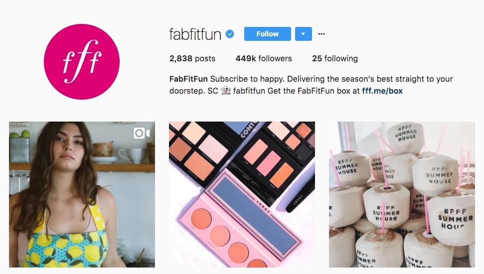 FabFitFun Influencer Marketing for Small Business