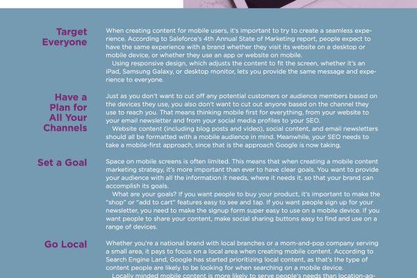 Mobile Content Marketing Ebook Image2