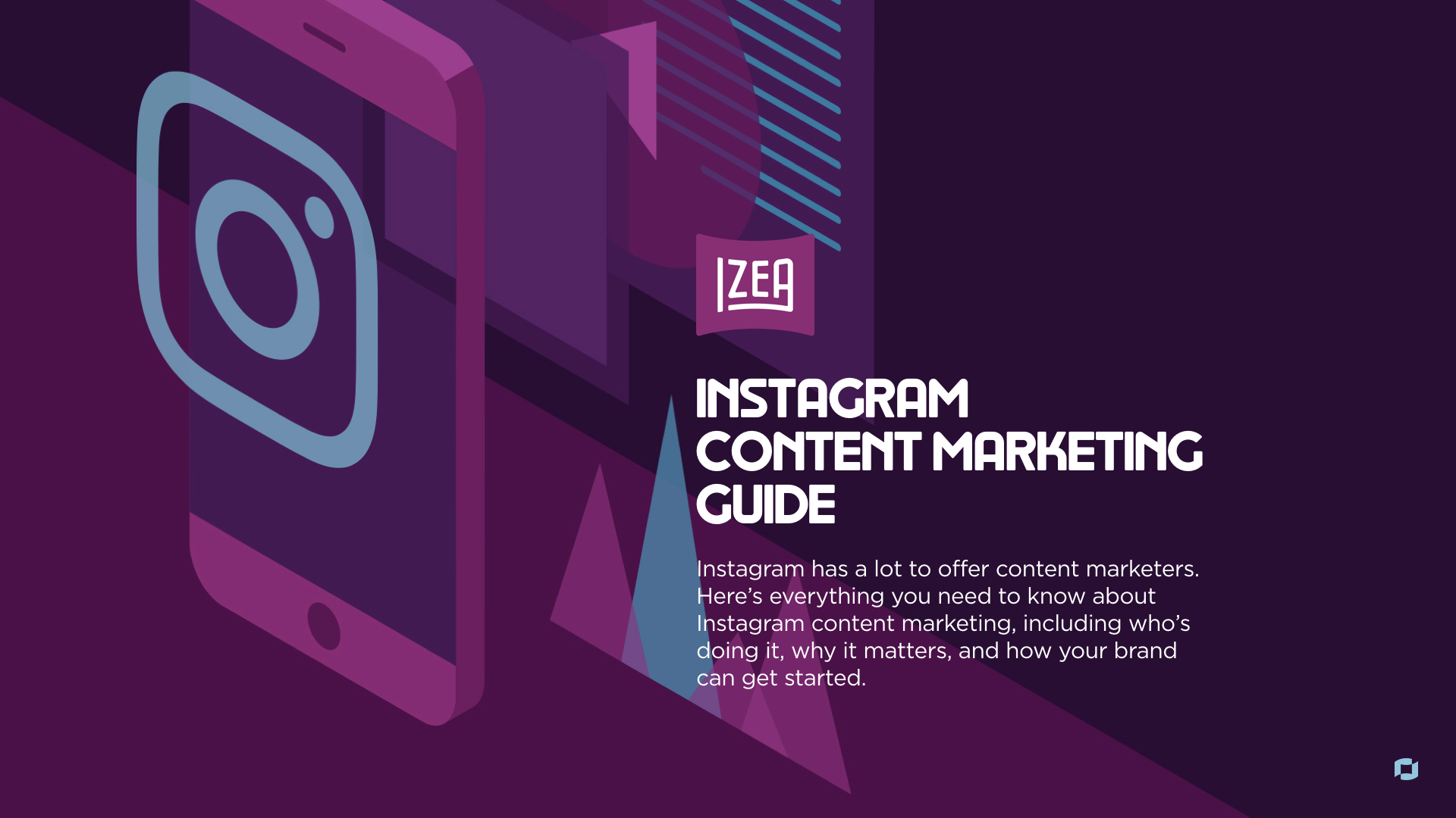 Instagram Content Marketing Guide Cover