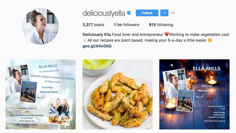 Deliviously Ella Instagram Influencer