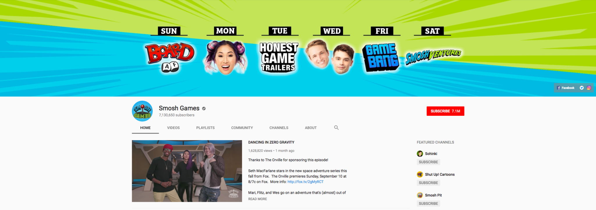 Smosh Games Top Gaming Influencers