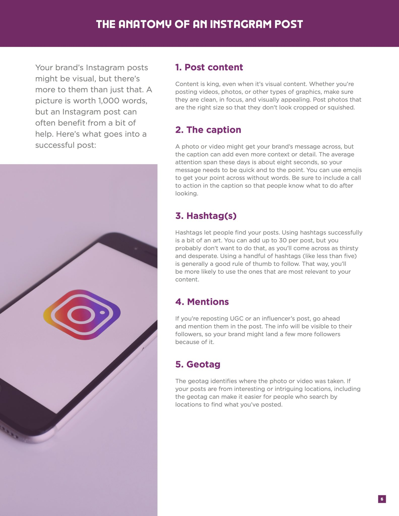 Instagram Content Marketing Ebook 3