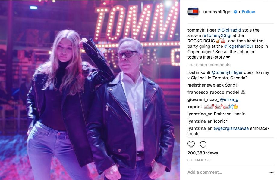 TommyXGigi Event Influencer Marketing