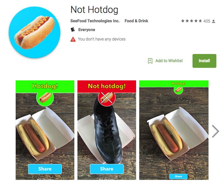 Not Hotdog AI Influencer Marketing