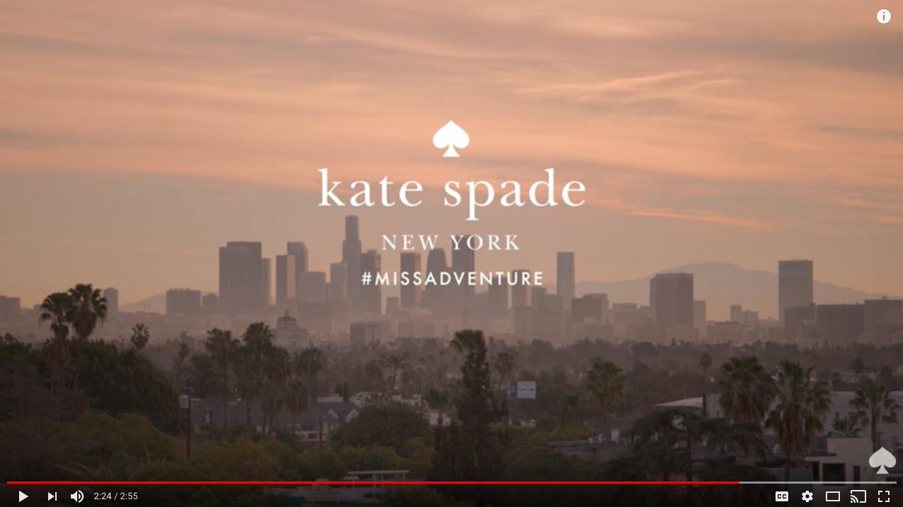 Kate Spade Retail Content Marketing