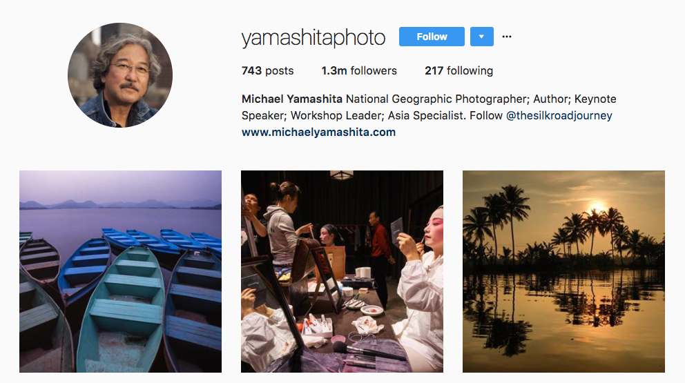 Michael Yamashita Top Photography Influencer