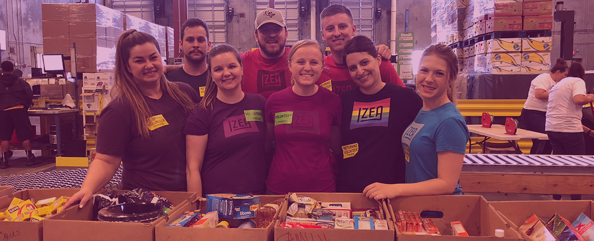 IZEACares Partners with Second Harvest Food Bank of Central Florida