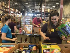 IZEACares at Second Harvest Food Bank