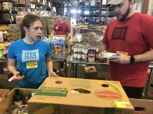 IZEACares at Second Harvest Food Bank